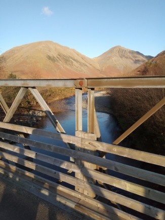 4. Wasdale Head - bridge at entrance to NT campsite
