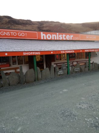 5. Honister - door of cafe